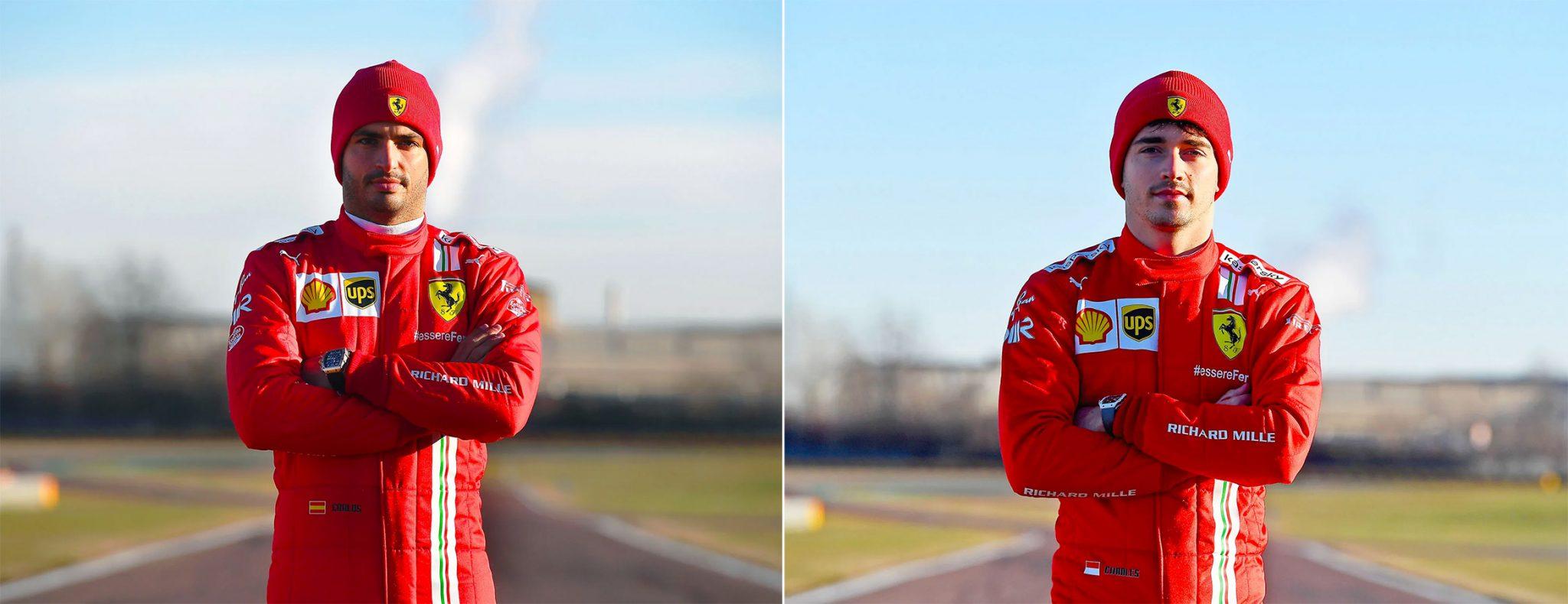 Richard Mille Und Ferrari Geben Partnerschaft Bekannt Swisswatches